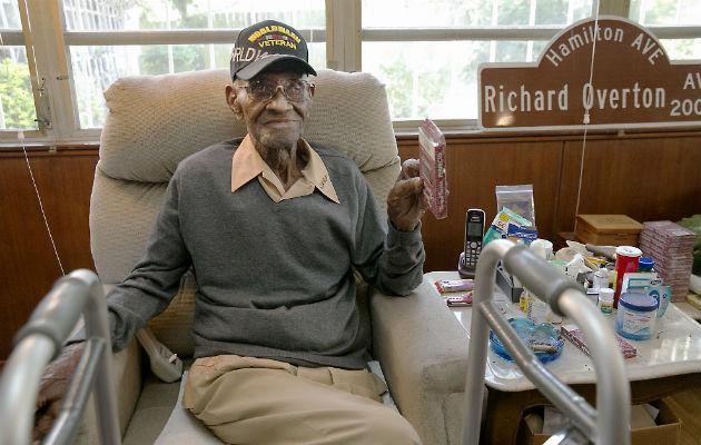 Excombatiente de la Segunda Guerra Mundial fallece en EE.UU a los 112 años