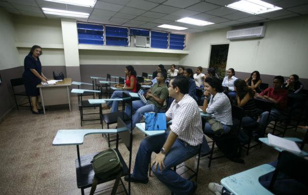 Estudiantes, futuro del país. Foto: Archivo.