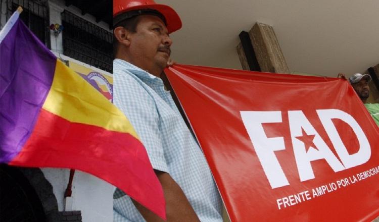 FAD solo quiere alianza con el pueblo; partidos pequeños buscan padrino