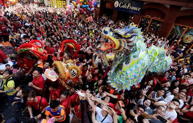 El barrio chino más antiguo del mundo celebra con tradiciones el Año Nuevo Lunar