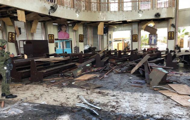 Una veintena de muertos en un atentado en el sur de Filipinas durante una eucaristía