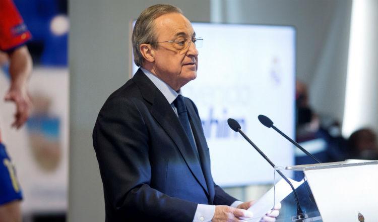 Después del Florentino dimisión, el presidente del Real Madrid pide calma