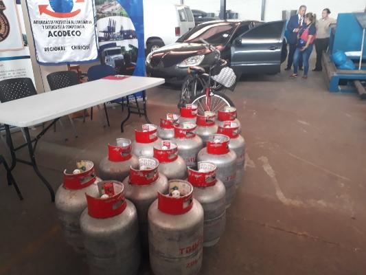 Acodeco inicia el secuestro a empresa por no pagar una multa por la venta de gas subsidiado