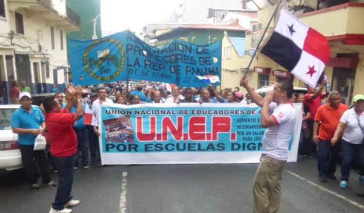 Los gremios docentes marcharán el próximo 12 de julio. Foto de archivo