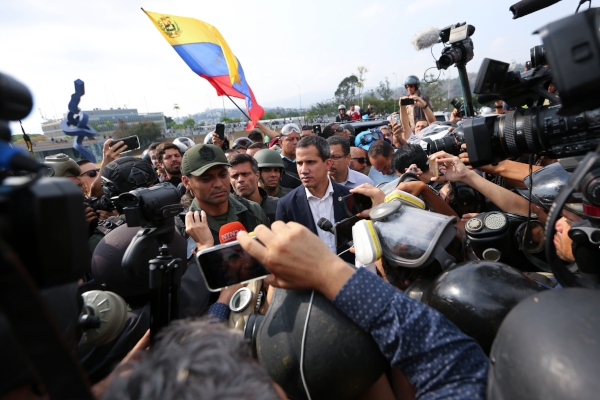 Panamá apoya retorno a la democracia en Venezuela tras levantamiento de Juan Guaidó