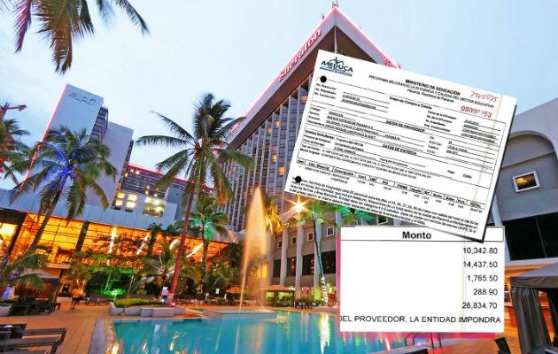 Meduca contrata hotel cinco estrellas para celebración de un congreso internacional. Foto: Panamá América.