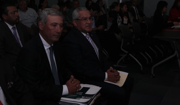 Juan Carlos Varela y Federico Humbert negociaron ratificación de los magistrados
