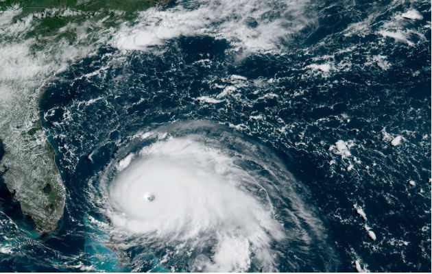 Dorian toca tierra; llega a las Bahamas como el más fuerte que se ha registrado
