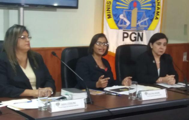 Fiscales anticorrupción del Ministerio Público.