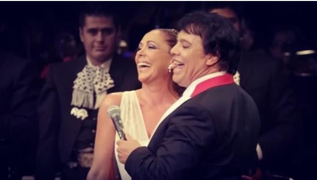 Isabel Pantoja y Juan Gabriel. Foto: Intagram