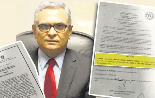 Magistrado de Cuentas fue designado ilegalmente