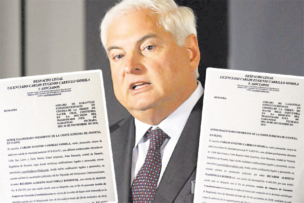 Ricardo Martinelli pide corregir abusos de Jerónimo Mejía
