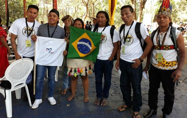 Encuentro mundial de jóvenes indígenas de la JMJ en Soloy, recibe mensaje del papa