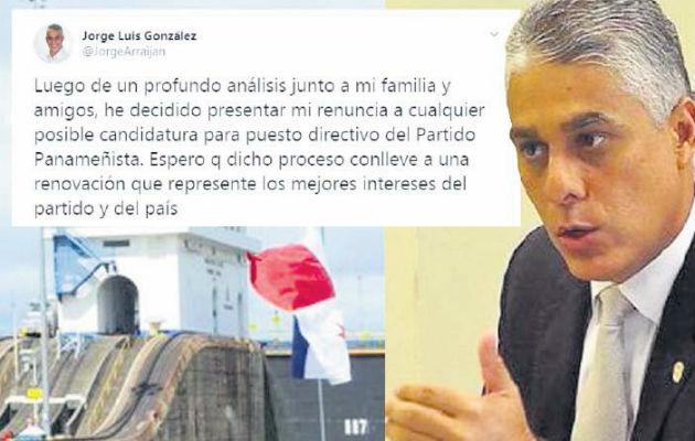 Politiquería se filtra en la Autoridad del Canal de Panamá, con la presencia de Jorge González