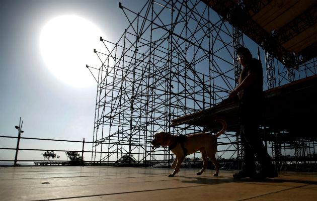 Panamá presenta megaestructuras para la Jornada Mundial de la Juventud