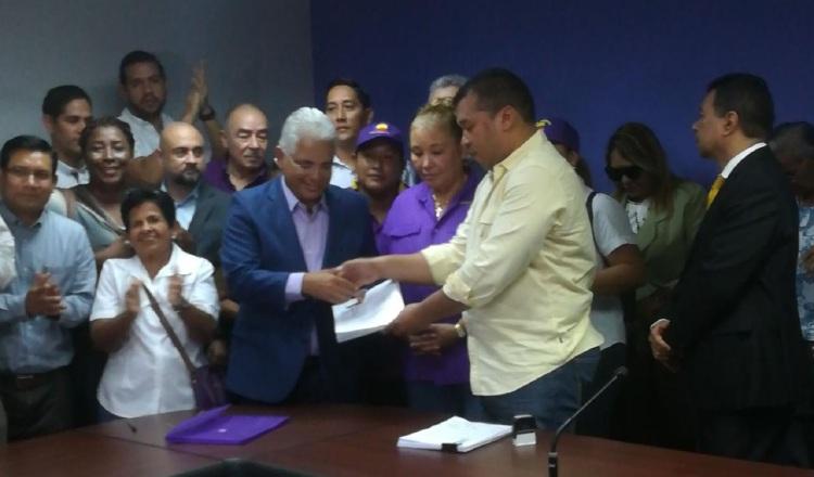 José Blandón pide renovar el partido Panameñista