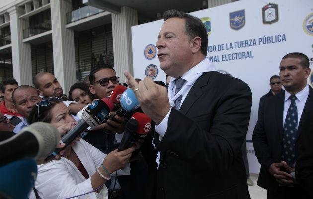 Presidente Juan Carlos Varela pone el pecho por su hermano en tema de planillas de la Asamblea