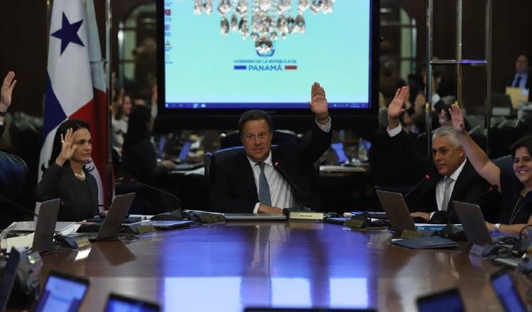 El Consejo de Gabinete aprobó el proyecto de ley de la quinta papeleta, que remitirá a los diputados. /Foto Cortesía