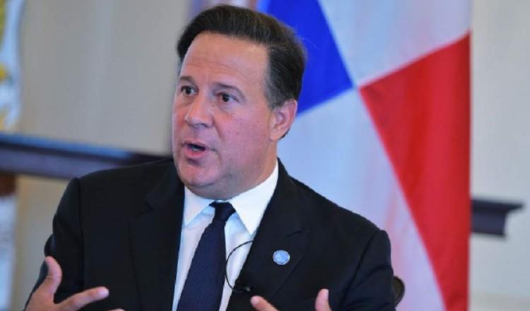Juan Carlos Varela asegura que logró la paz global y justicia social, a pesar de las críticas a su gestión