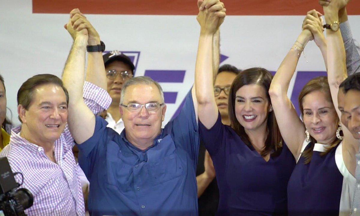 Judy Meana acompaña a José Luis Fábrega en candidatura a la Alcaldía de Panamá