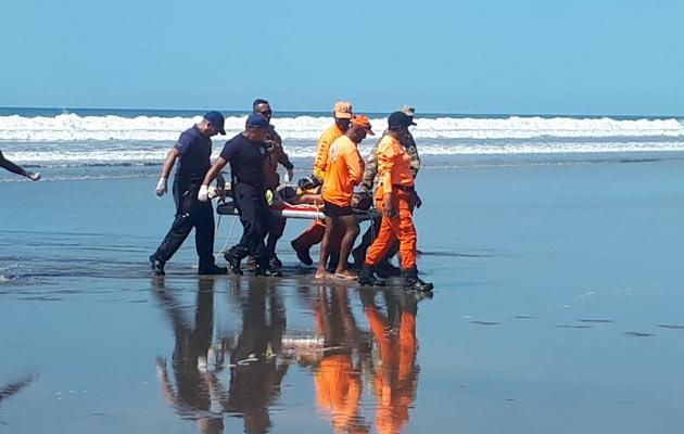 Ubican el cuerpo del joven ahogado en playa Las Lajas en Chiriquí