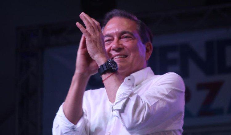 Laurentino Cortizo dijo anoche que la campaña política terminó e invitó a todos los panameños a trabajar unidos por el bienestar del país. Cortesía.
