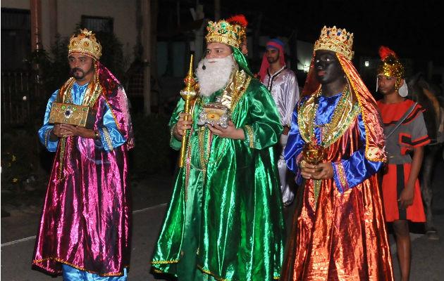 En Macaracas se encuentran listos para la celebración del Drama de los Reyes Magos
