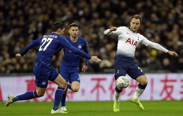 Christian Eriksen espanta los rumores que lo vinculan al Real Madrid
