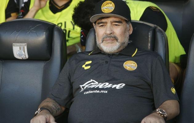 Diego Maradona, esperado por Dorados en 10 días