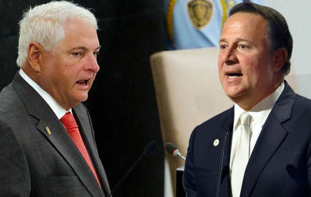 Ricardo Martinelli es el mejor presidente de la era democrática; Juan Carlos Varela el peor, según encuesta. Foto: Panamá América.