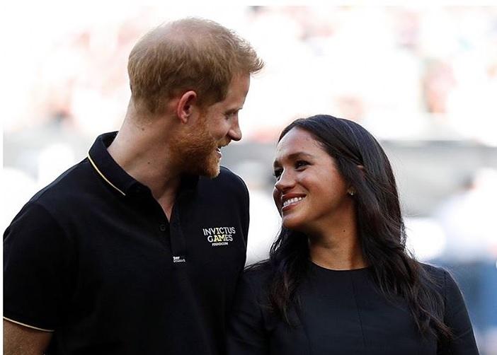 Harry y Meghan. Foto: Instagram