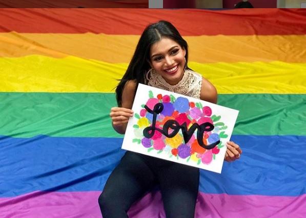 Mehr Eliezer, Señorita Panamá 2019, lista para la Marcha del Orgullo Gay