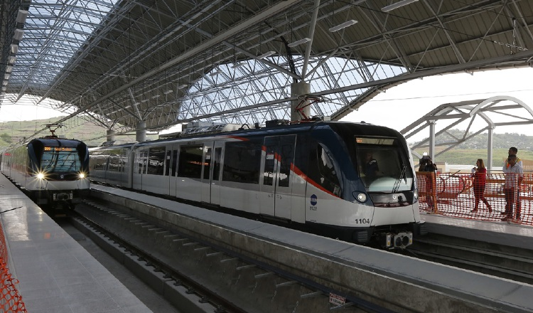 Realizan pruebas de la Línea 2 del Metro de Panamá antes de su inauguración el 25 de abril