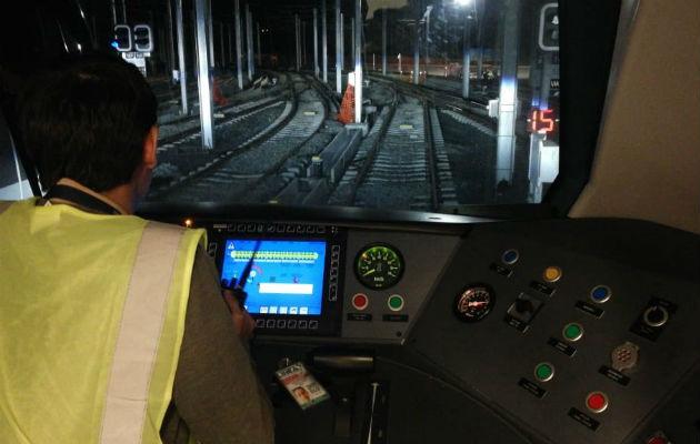 Ponen a prueba la Línea 2 del Metro de Panamá