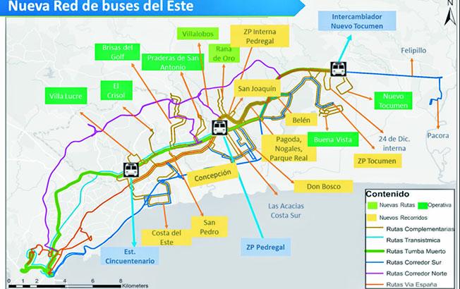 Mi Bus suma 12 nuevas rutas para alimentar la Línea 2 del Metro