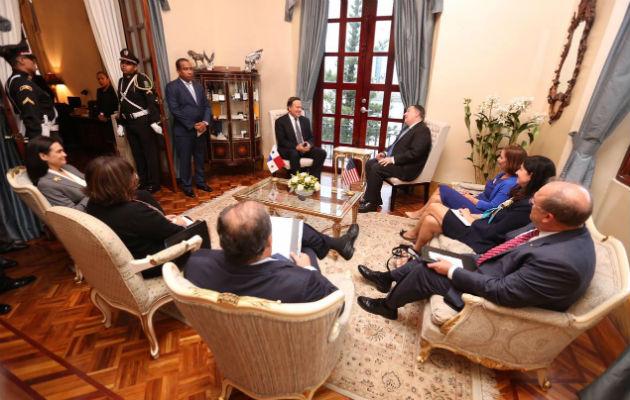 Secretaría de Estado confirma que Mike Pompeo y Juan Carlos Varela hablaron sobre China