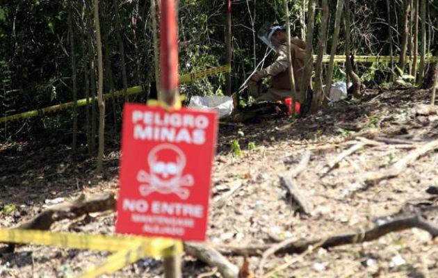 Al menos 262 víctimas de minas en Colombia entre enero y agosto, según el CICR