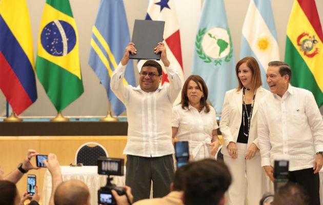 Laurentino Cortizo sanciona ley 11 que crea el Ministerio de Cultura
