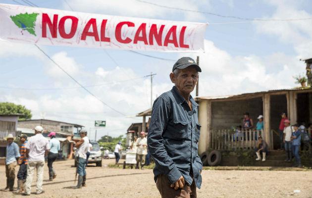 Campesinos de Nicaragua celebran la cláusula que cancelaría el canal interoceánico