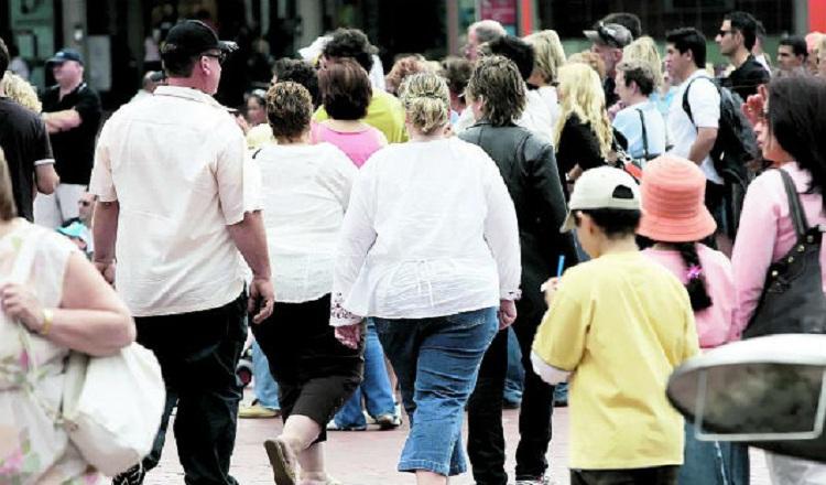 Personas con sobrepeso en panama