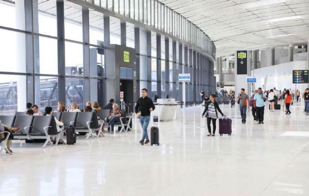 La Terminal 2 tuvo un costo de 800 millones de dólares. Archivo