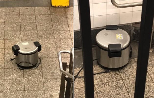 Ollas de presión causan pánico en el metro de Nueva York