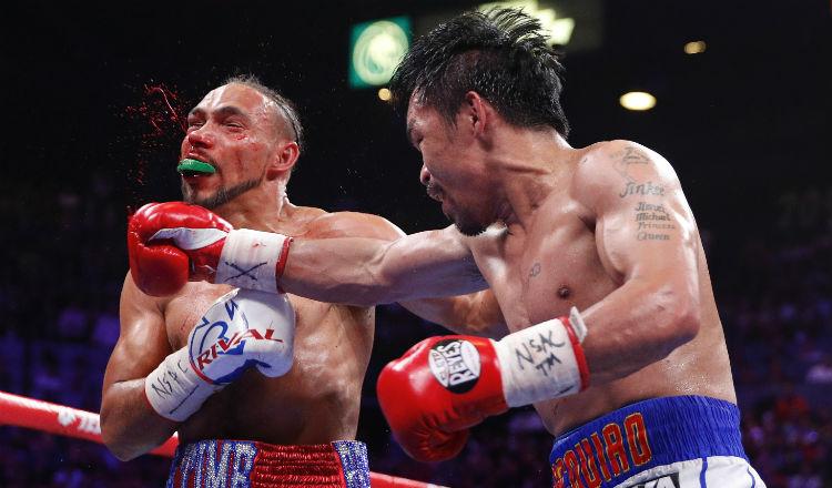 Thurman quiere la revancha ante Manny Pacquiao
