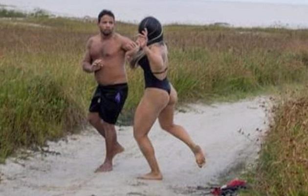 Peleadora de artes marciales mixtas le da una golpiza  a un hombre que se masturbaba mirándola