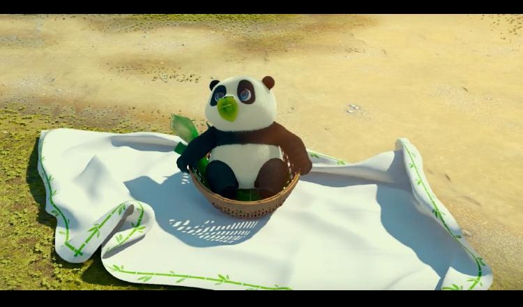 'Un panda en apuros' exalta la amistad