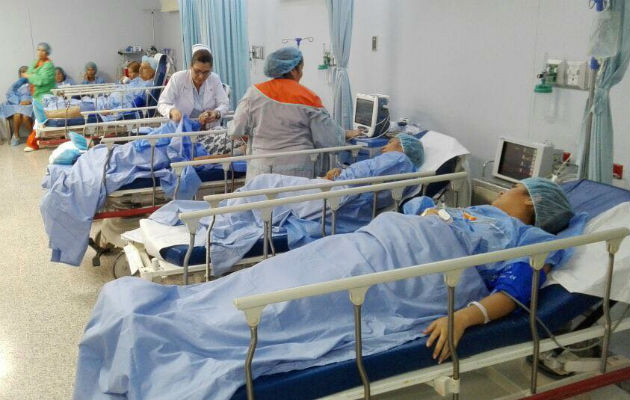 Una mujer da a luz dentro del baño del hospital Rafael Estévez de Aguadulce