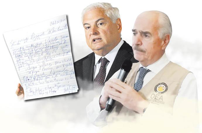 Llevarán a la OEA informe sobre el caso de Ricardo Martinelli