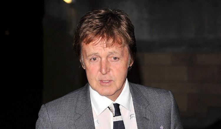 Paul McCartney trabaja en un musical