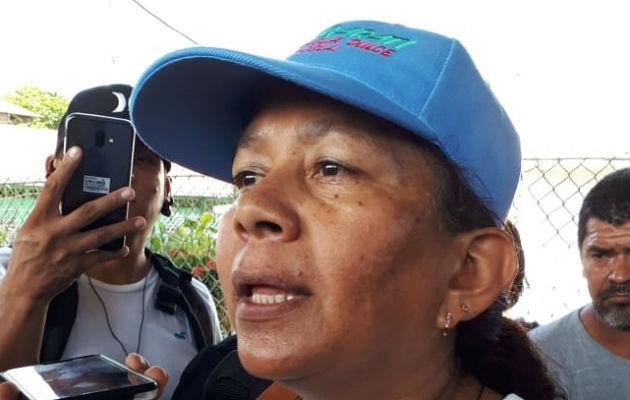 Periodista liberada en Barú durmió en piso de cemento mientras estuvo detenida
