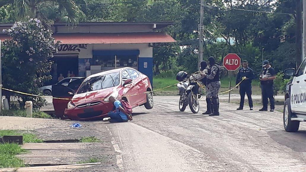 Persecución, intercambio de disparos y detenidos en Veraguas